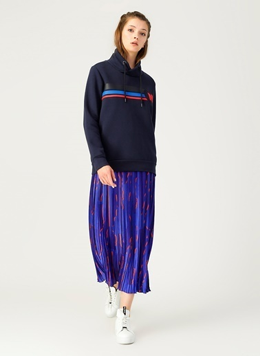 North Of Navy Sweatshirt Lacivert